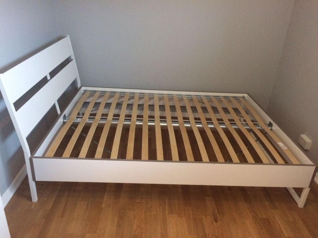 Ikea Trysil Bed White