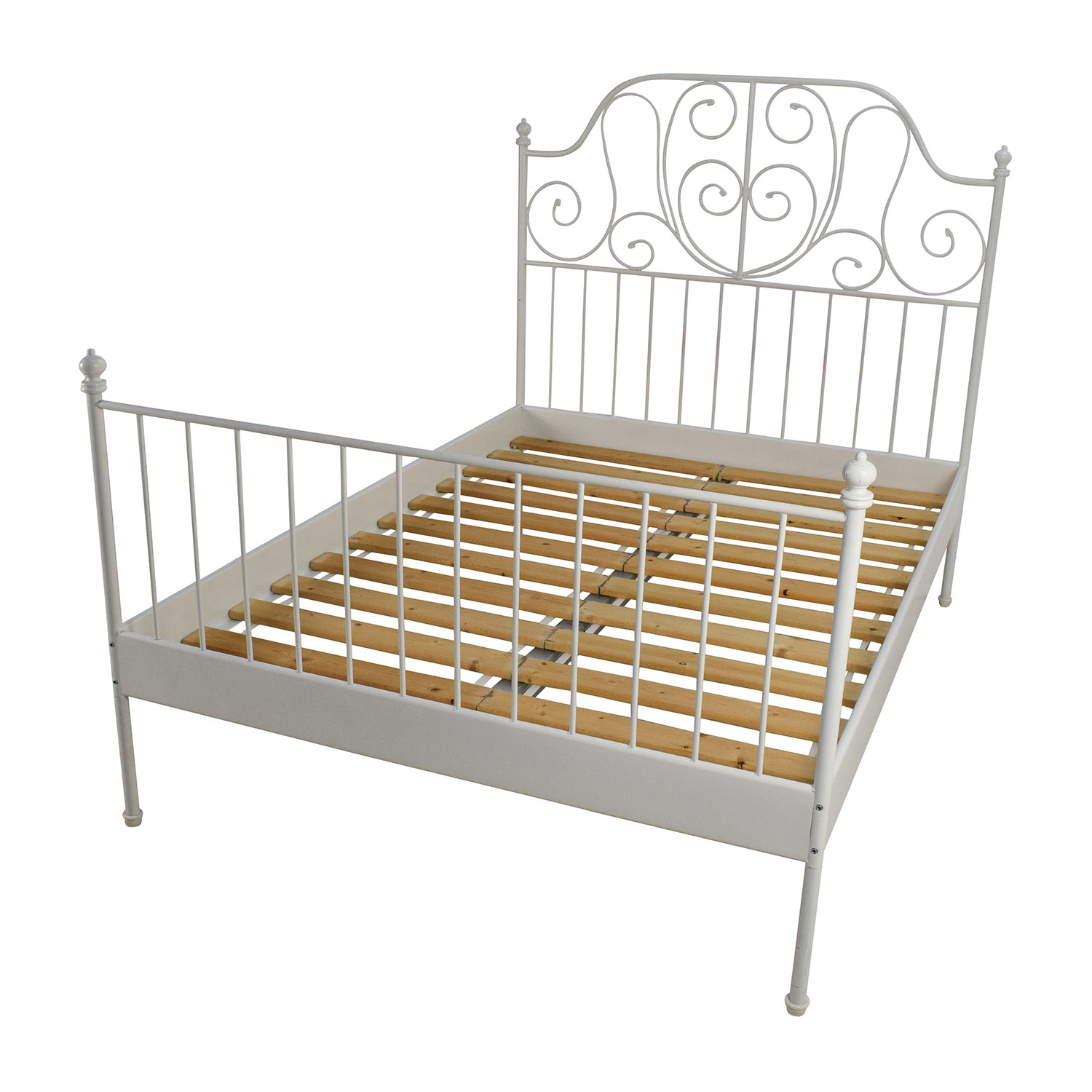 ikea leirvik bed frame review ikea bedroom product reviews. Black Bedroom Furniture Sets. Home Design Ideas