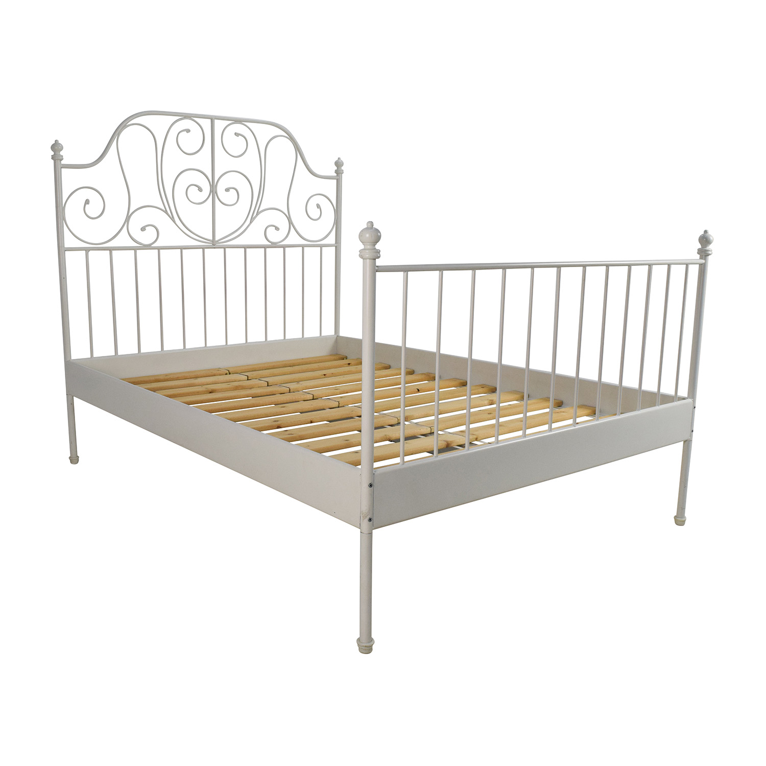 Ikea leirvik bed frame review ikea bedroom product reviews for Ikea mattress frame