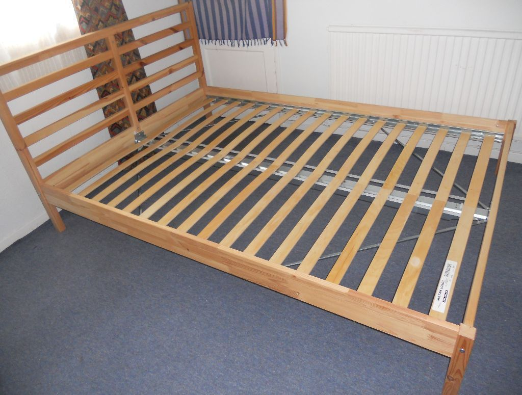 Ikea tarva bed frame review ikea bedroom product reviews for Ikea mattress frame