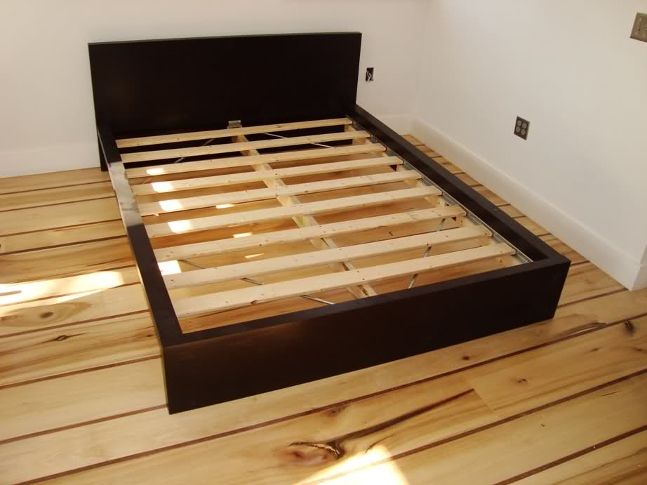 IKEA Malm Bed Frame Brown