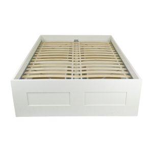 las frame large bedroom platform ikea bed of white malm vegas instructions size sultan full