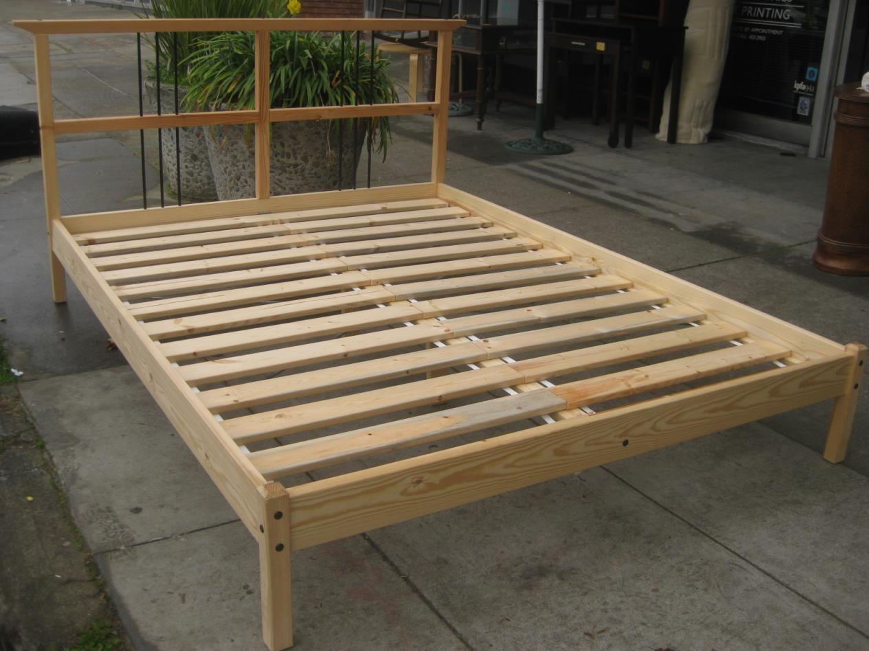 Bedroom Furniture Box Springs Mattresses Metal Frames: IKEA Undredal Bed Frame Review