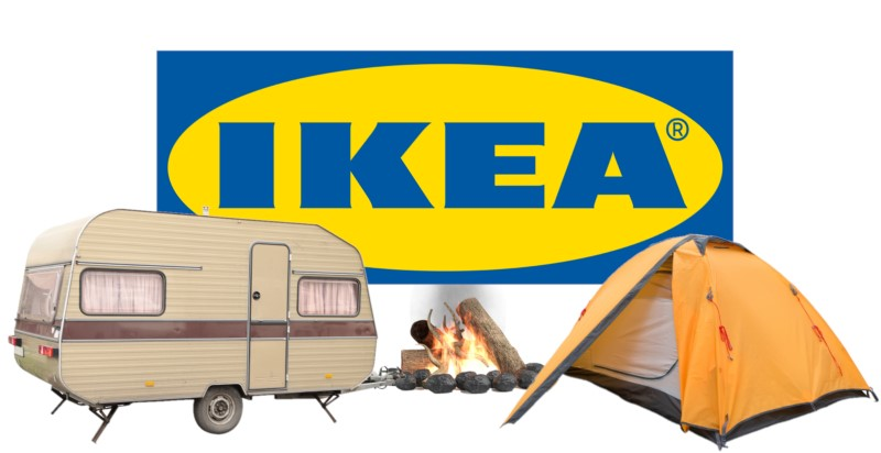 Go Camping With IKEA Products!
