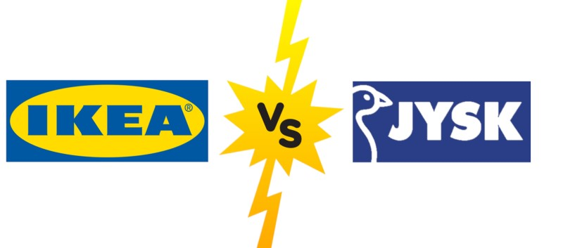 Stores Comparison: IKEA vs. JYSK