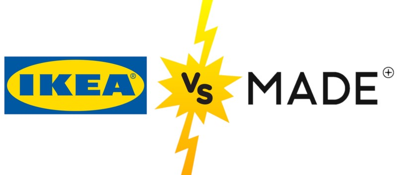 Stores Comparison: IKEA vs. MADE.COM