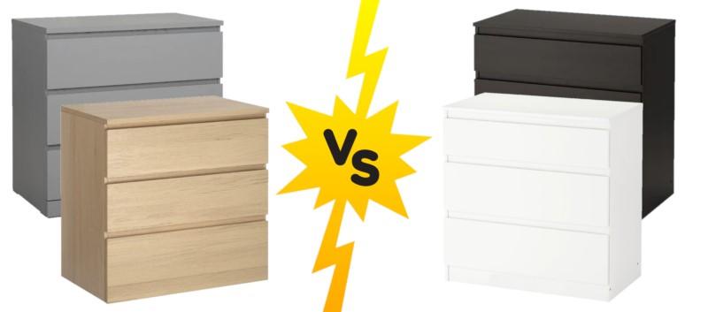 IKEA Furniture Comparison: Malm vs. Kullen
