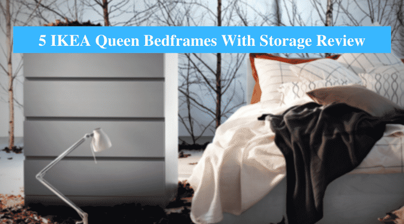 IKEA Queen Bedframes With Storage