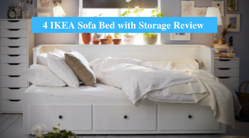 IKEA Sofa Bed with Storage