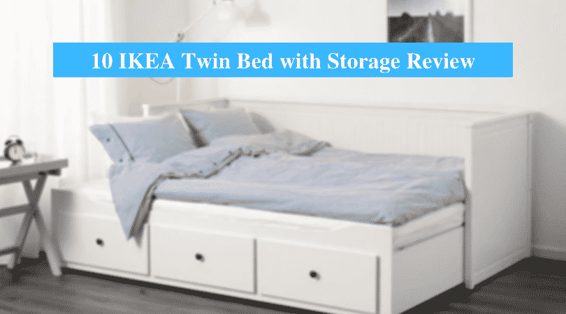 IKEA Twin Bed with Storage