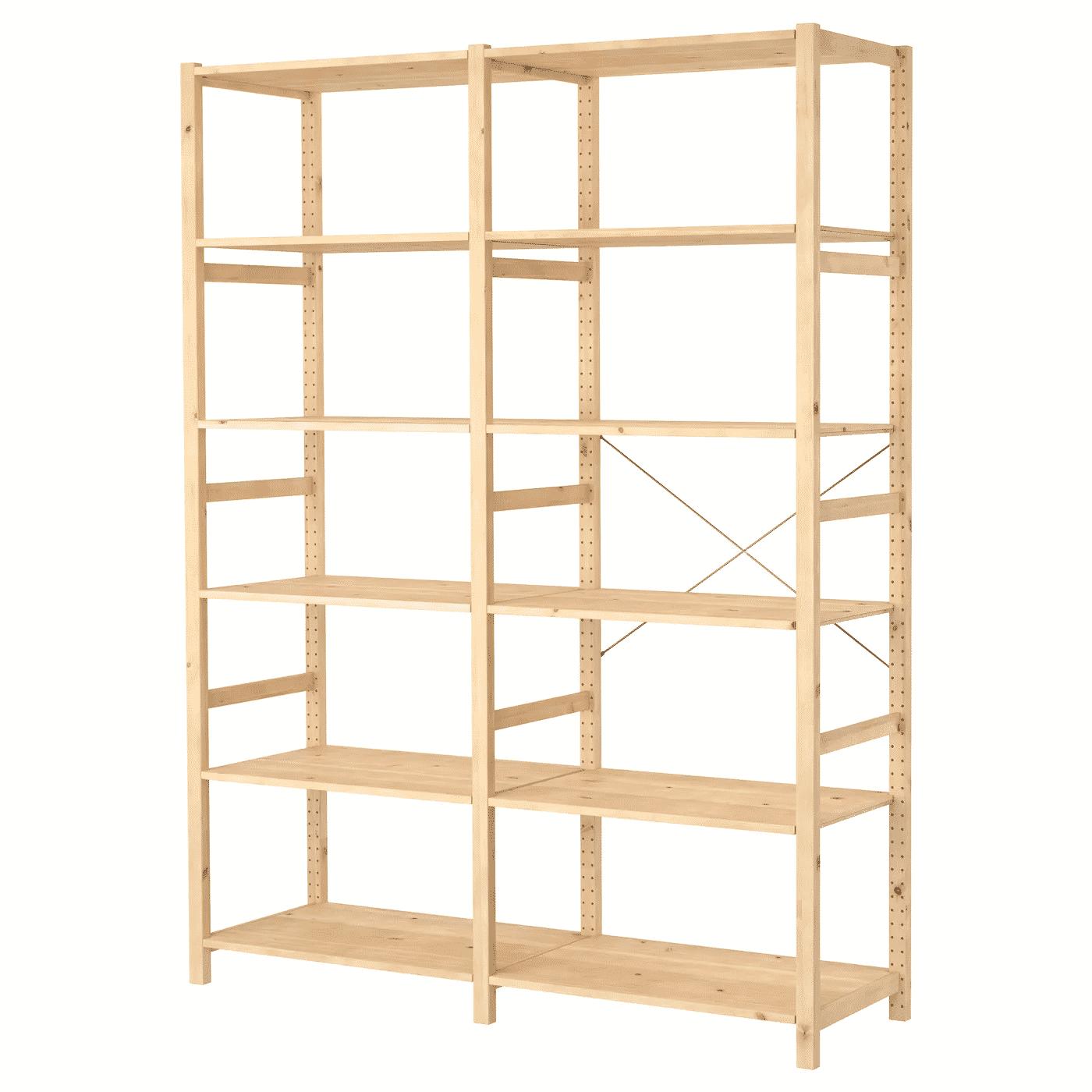IVAR Two Section Shelf