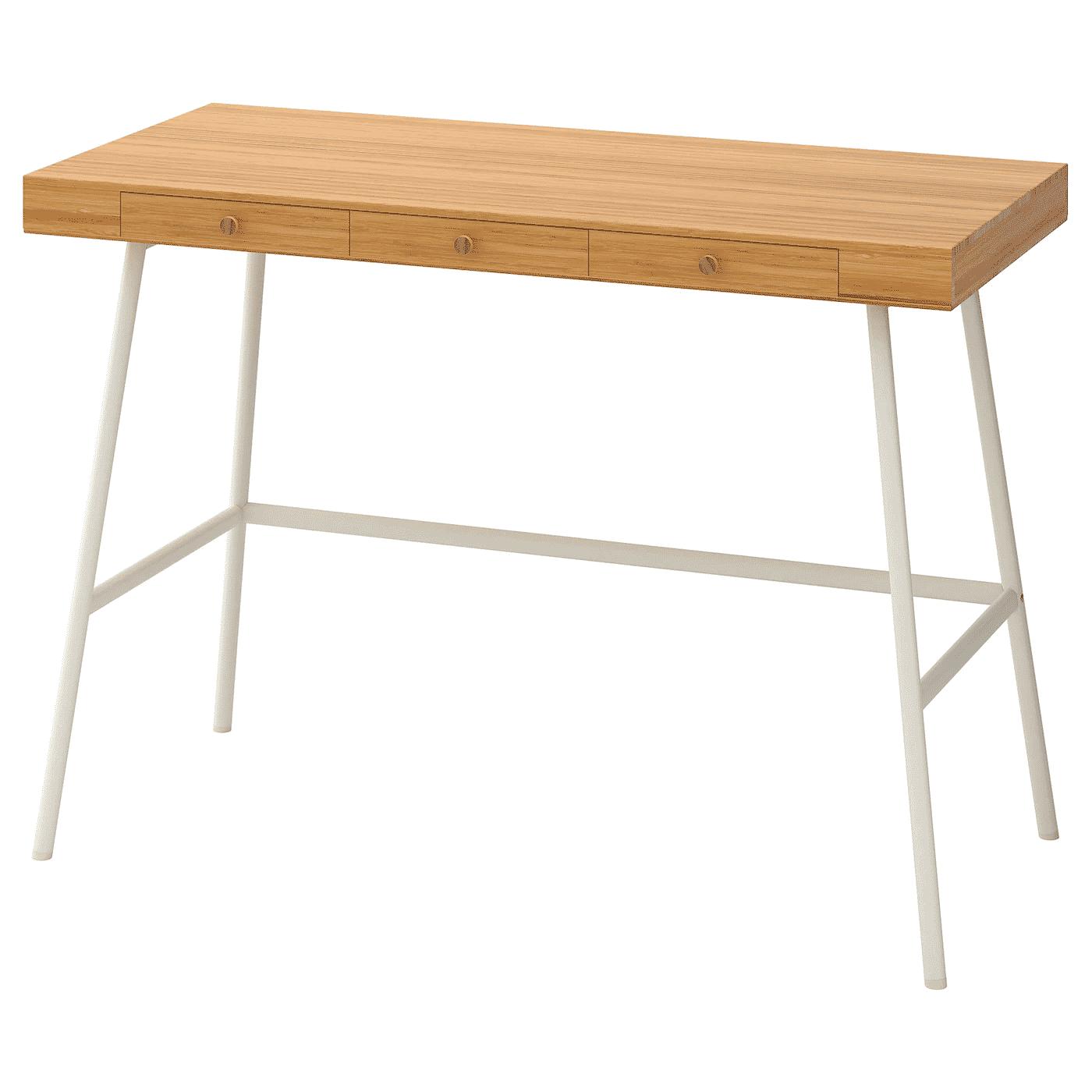 LILLASEN desk bamboo