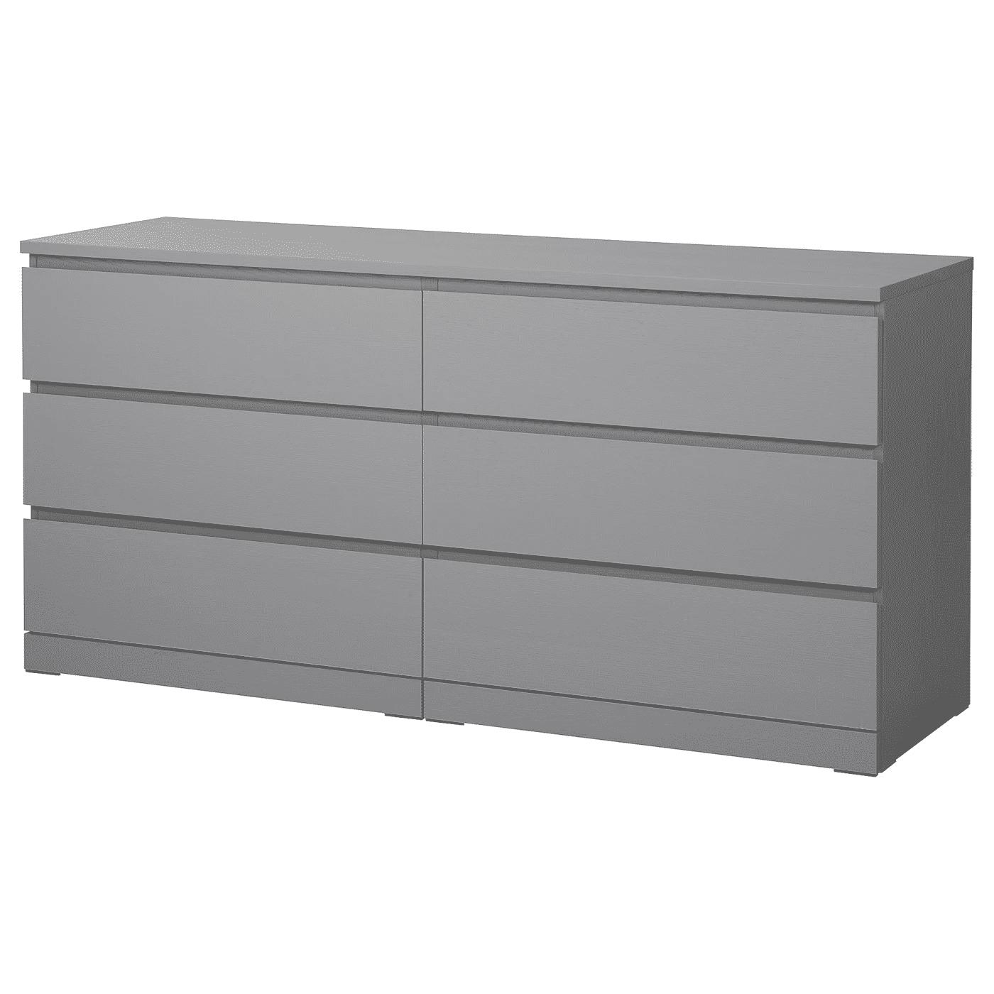 Malm 6- Drawer Dresser