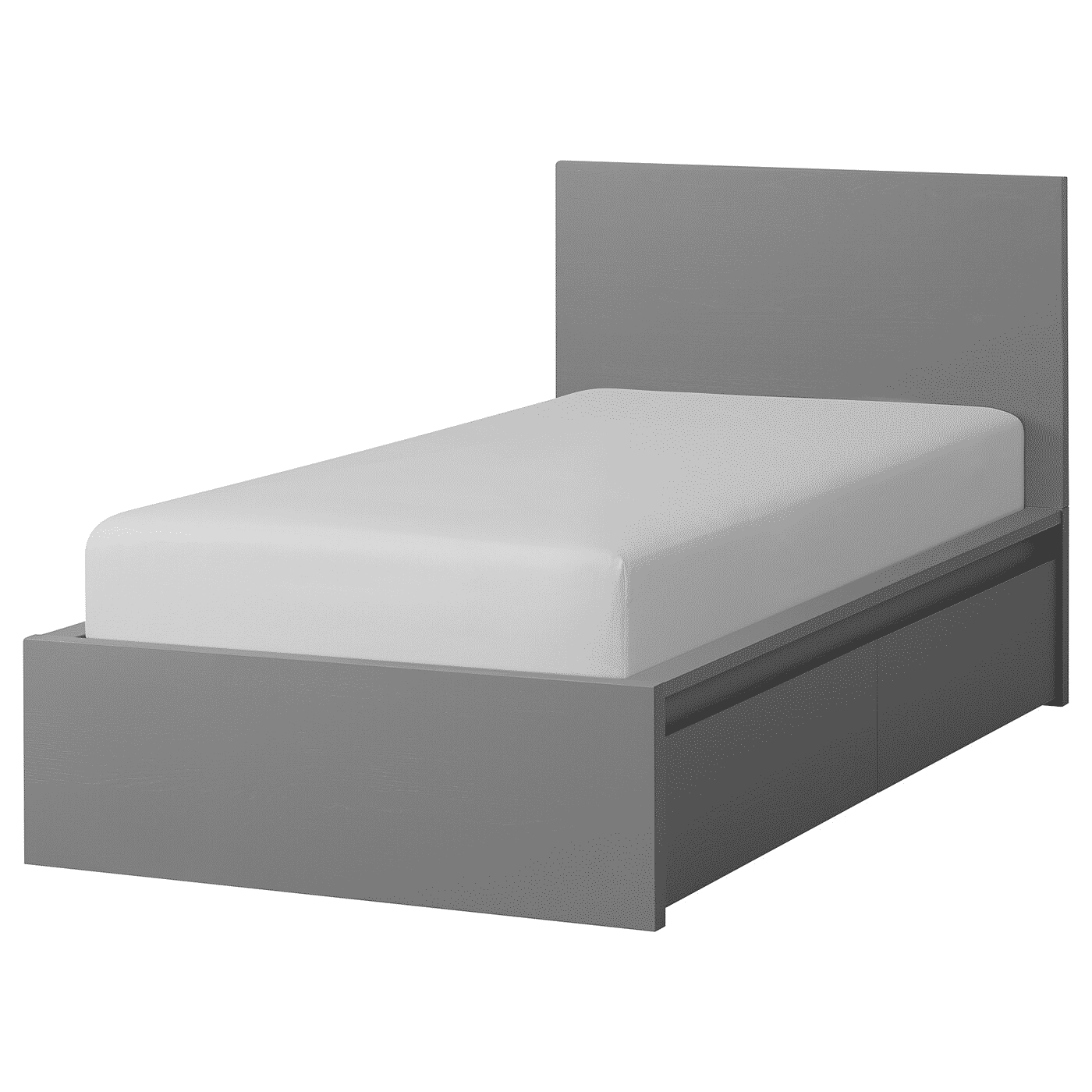 Malm High Bed Frame