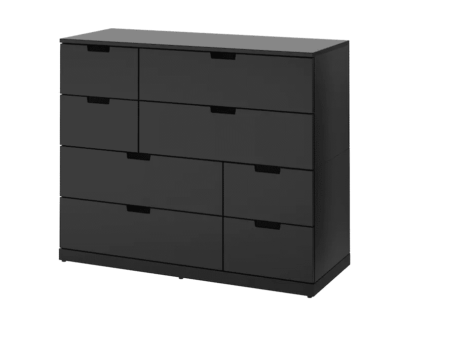 Nordli 8 Drawer Dresser