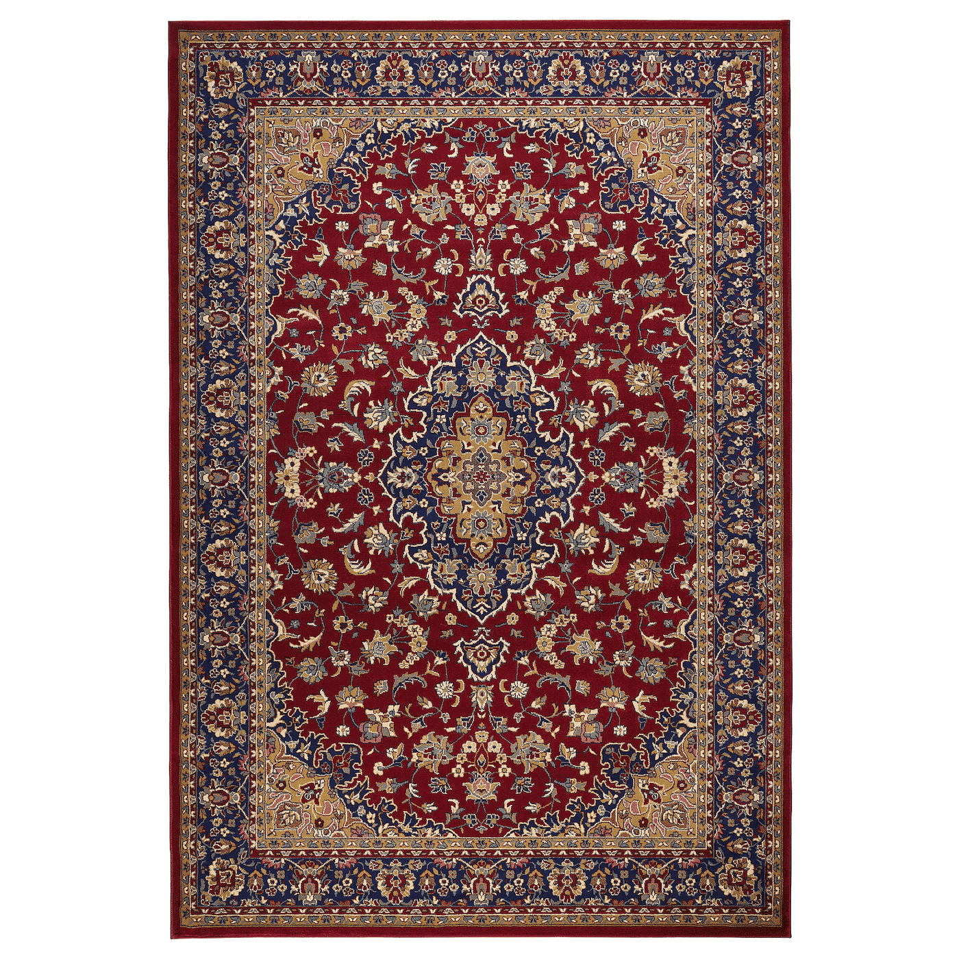 VEDBÄK Rug, low pile, multicolor