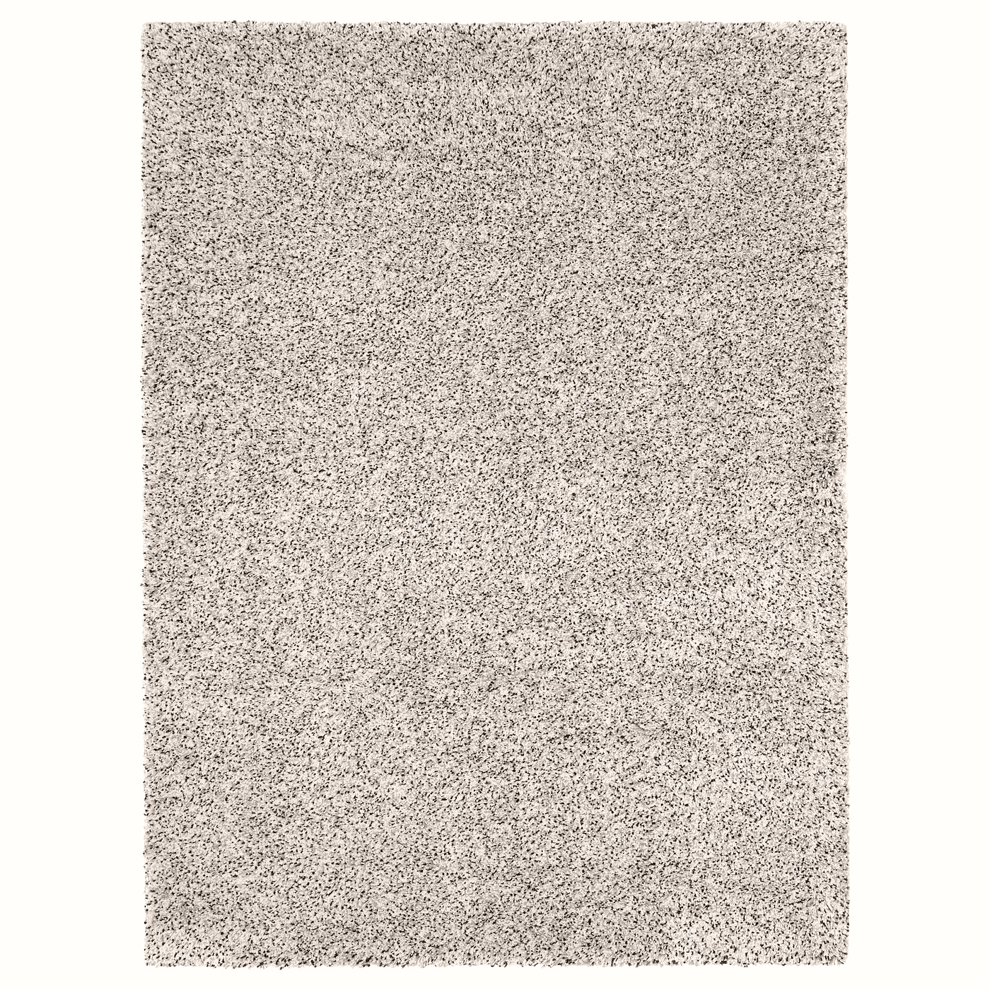 VINDUM Rug, high pile, white 1