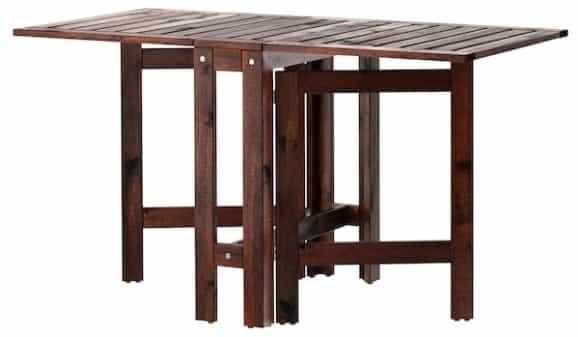 ÄPPLARÖ Gateleg Table