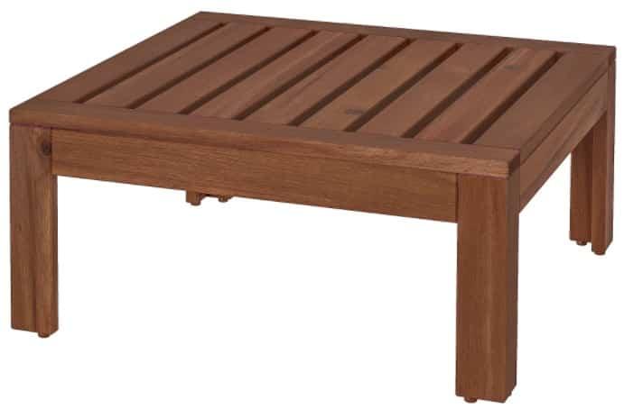 ÄPPLARÖ Table & Stool Section
