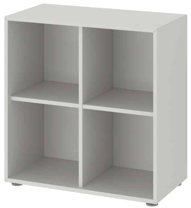EKET Storage Combination with Feet, Light Gray