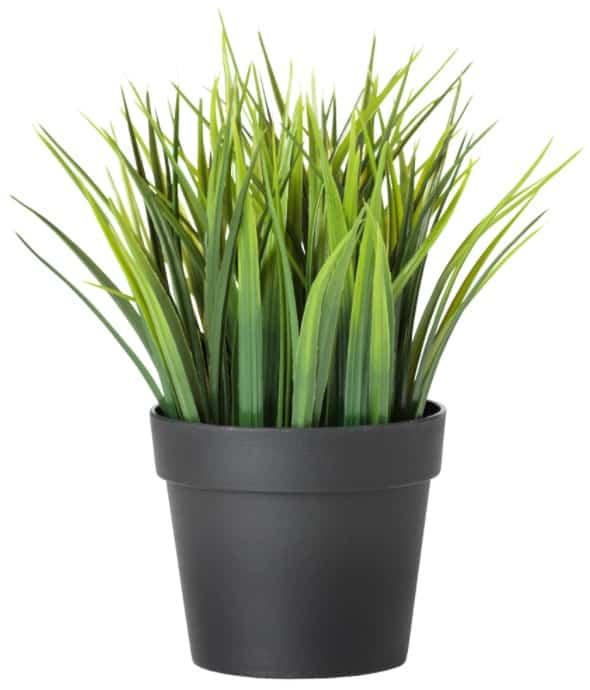 FEJKA Artificial Potted Plant, Grass