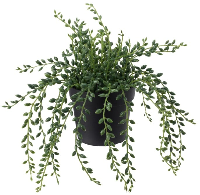 FEJKA Artificial Potted Plant, String of Beads