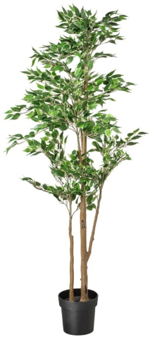 FEJKA Artificial Potted Plant, Weeping Fig