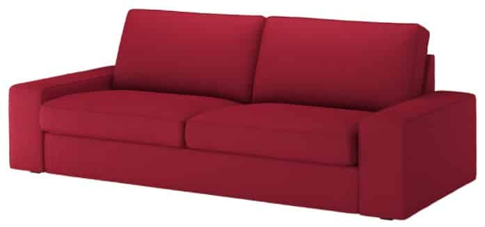 KIVIK Sofa, Orrsta Red