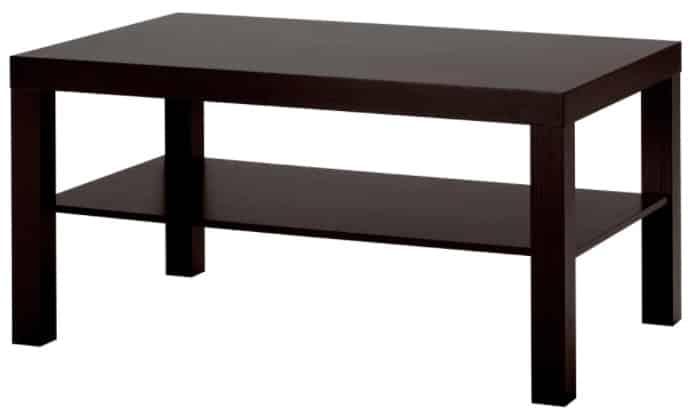 LACK Coffee Table, Black-Brown