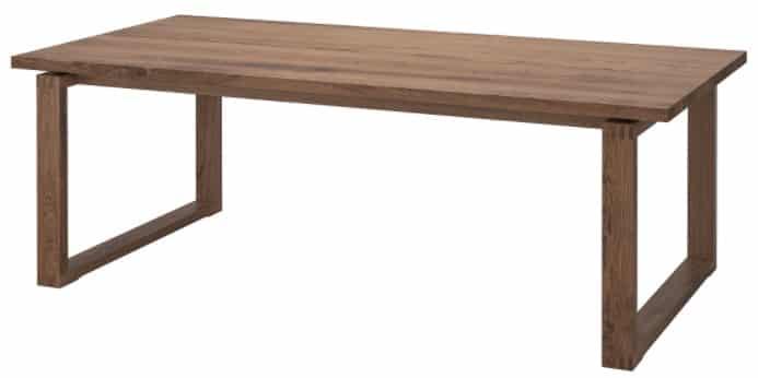 MÖRBYLÅNGA Table, Oak Veneer