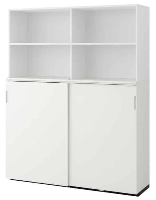 GALANT Storage combination w sliding doors