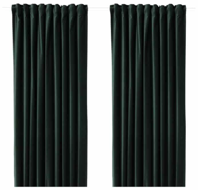 SANELA Room Darkening Curtains